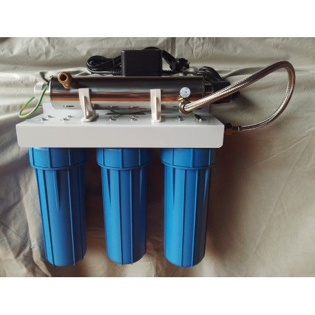 Kit filtration 3 modules + UV 14W